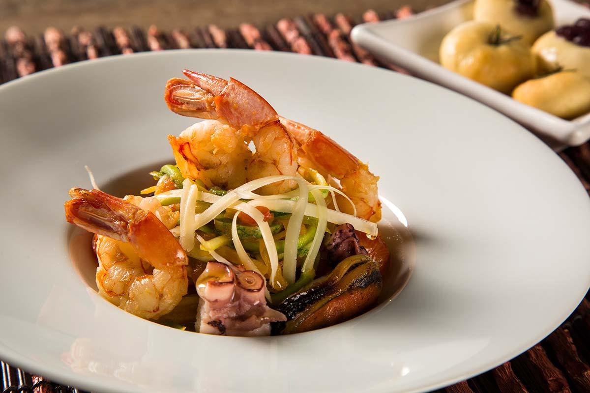 Tipično sicilijansko jelo – lingvini sa plodovima mora.