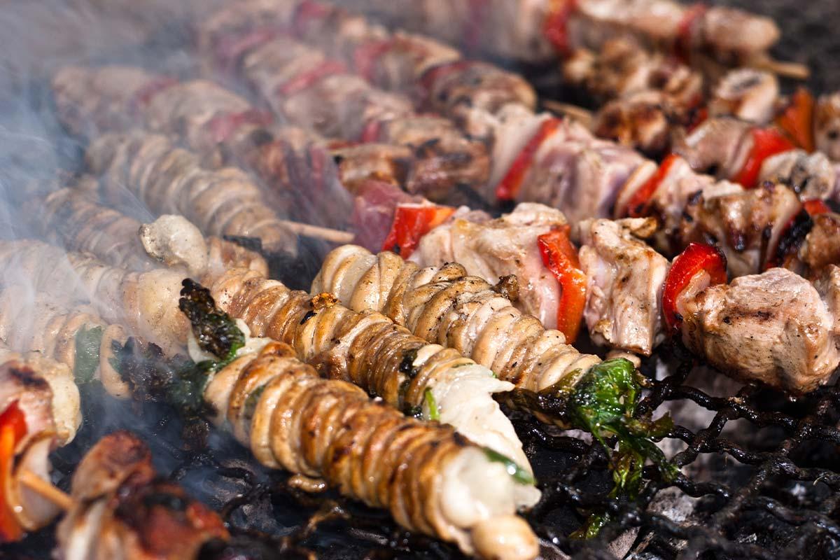 Stigghiole (stiđiole) – hrana koja se jede na ulicama Palerma.
